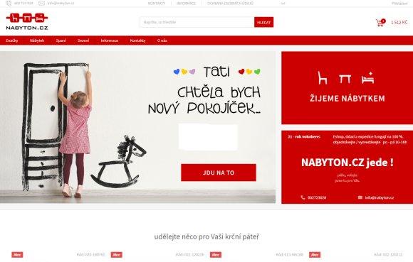 nabyton cz původně nabytek-online.cz  - nábytkem žijeme