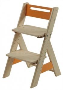 Dětská rostoucí židle ZUZU oranžová