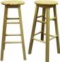 Dřevěná barová židle - stolička