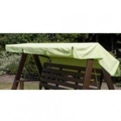 citrónově zelená stříška k 2 - místné houpačce HARBO 9909-2051