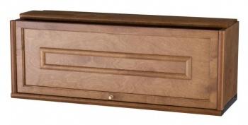 Boknäs knihovny - skříňka 31, hluboká dvířka dřevěná