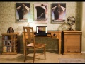 Boknäs - psací stůl malý pro osobní počítač