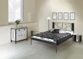 Kovaná postel Valencia 180 x 200cm