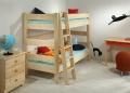 Gazel Sendy etážová postel 90 x 200 cm palanda 155 cm ekovosk