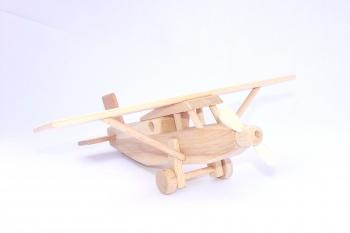Dřevěné letadlo Pilatus