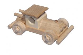 Dřevěné autíčko - Bugina II.