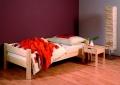 Gazel Sendy postel 90x220 přírodní prodloužená