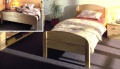 postel BERGHEN 90 - prodloužená 220cm