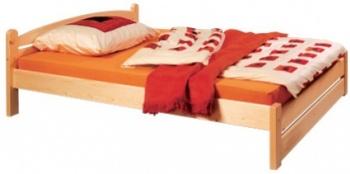 gazel Thorsten postel 160 - nízké čelo u nohou