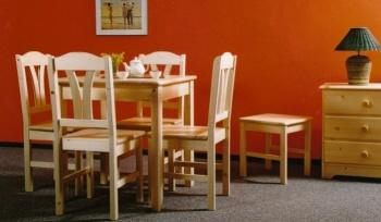 Jídelní stůl přírodní 78x78