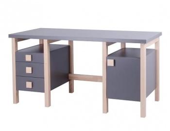 Psací stůl HENRY II. NEW šedý