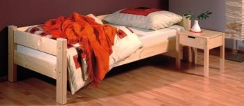 Gazel Sendy postel 90 x 200 přírodní