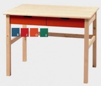 Stůl zásuvkový MARIO - NATIVE