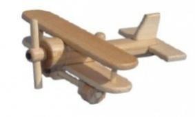 Letadlo dřevěný dvouplošník