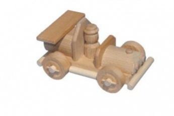 Dřevěné autíčko - Auto s řidičem II.