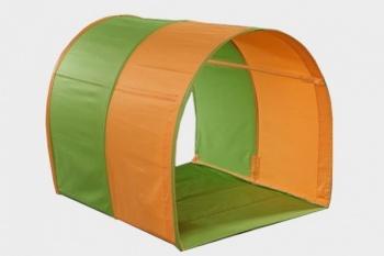 Tunel - oranžovo-zelený