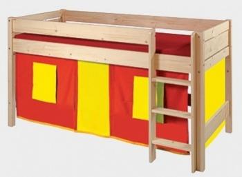 Domeček červeno-žlutý