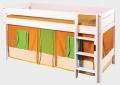 Domeček oranžovo-zelený