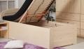 Postel MARK Senior 90+ rošt lamelový čelní 135/S+240