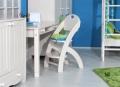 Židle KLÁRA 1- dětská polohovací 407/1/SB bílá