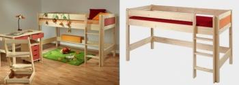 Gazel Etážová postel Bella nízká - NATIVE zelená