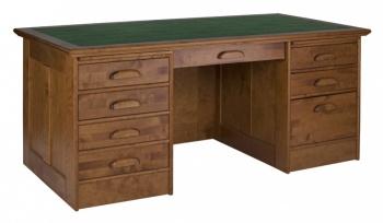 Boknäs - psací stůl, ředitelský