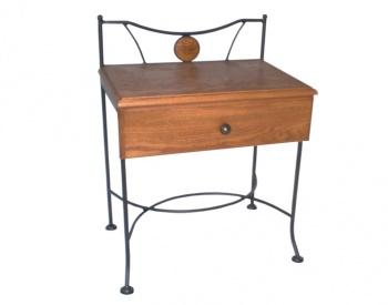 Iron - Art Kovaný noční stolek Stromboli