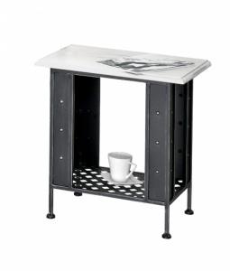 Iron - Art Kovaný noční stolek Valencia