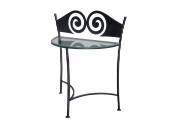 Iron - Art Kovaný noční stolek Ronda