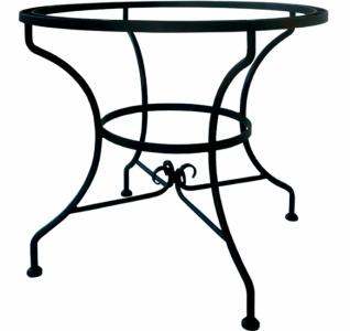 Iron - Art Kulatý stůl Jamaica, střední
