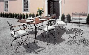 Iron - Art Zahradní stolek Versailles III