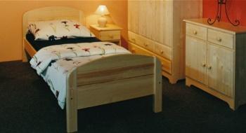 Gazel dřevěná postel BERGHEN 90 - SENIOR č. 190 -...