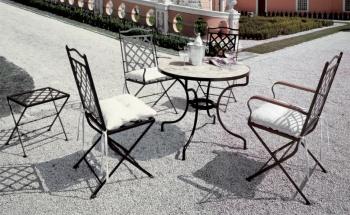 Iron - Art Zahradní stolek St. Tropez IV