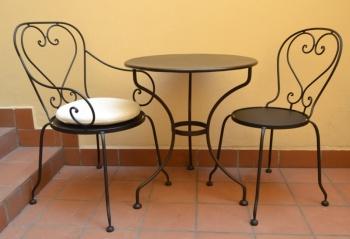 Iron - Art Zahradní stolek Montpelier IV