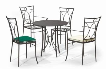 Iron - Art Zahradní stolek Bretagne III