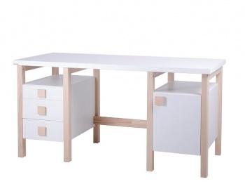 Gazel Psací stůl HENRY II. NEW bílý