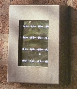 massive Nástěnné venkovní světlo LED Milazzo 16709/87/10