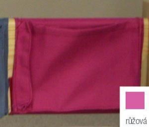 Kolinger ason kapsa 20 na postel sendy - růžová