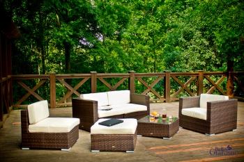 Bello Giardino Zahradní nábytek souprava Discreto bílá